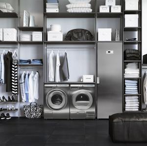 Asko комплект в ряд (стиральная и сушильная машины + сушильный шкаф)