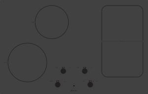 Варочная индукционная панель Asko HI1884MF