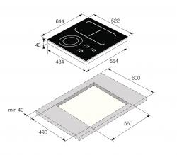 Asko Asko HI1694G Варочная индукционная панель