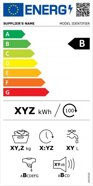 Новая EU энергетическая этикетка