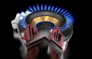 Дополнительное кольцо пламени для огромных сковород