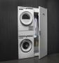 Asko полный комплект (стиральная и сушильная машины + сушильный шкаф + вспомогательный элемент)