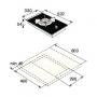 Варочная панель Domino Asko HG1365GB